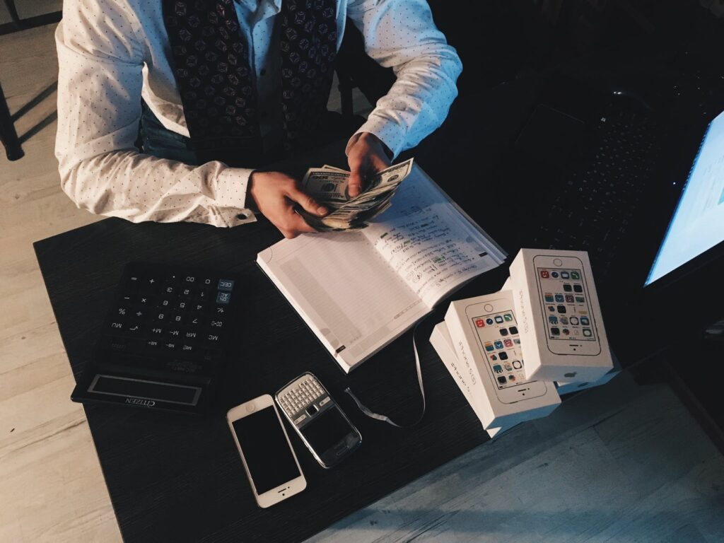 accounting or bookkeeping services